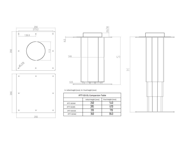 大铝手动IPTT-SD-DL